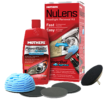 Mothers NuLens Headlight Restoration Kit