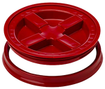 Grit Guard© Gamma Seal bucket lid system