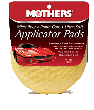 Mothers Microfibre Applicator Pads