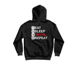 Eat, Sleep, Detail, Repeat Hoodie