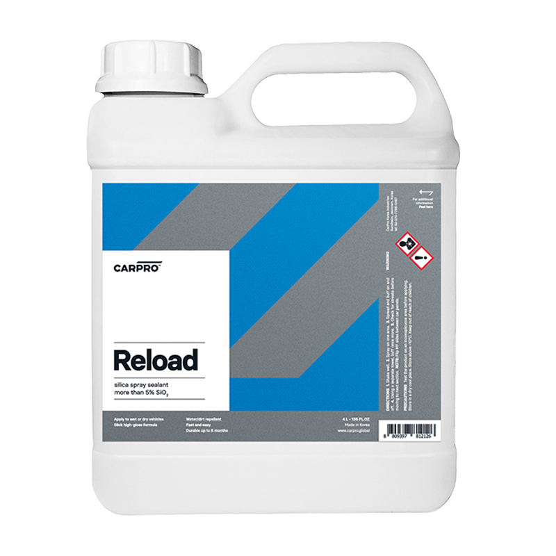 Reload: Inorganic Spray Sealant (4000ml) 4L