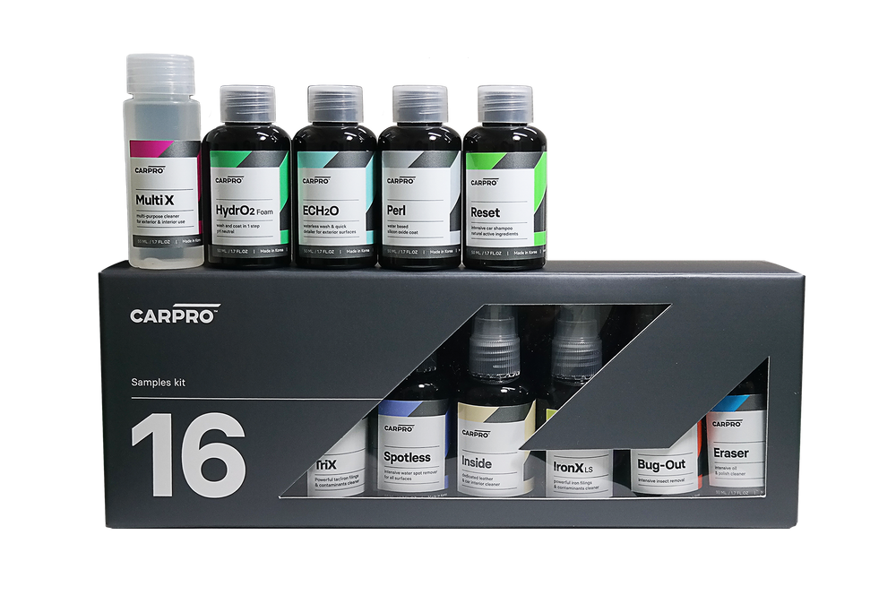 CarPro Cube samples kit! 16 x 50ml samples