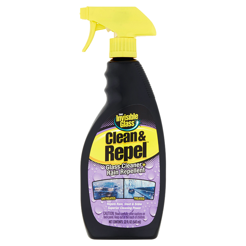 Stoner Invisible Glass Clean & Repel - Glass cleaner spray with rain repellent