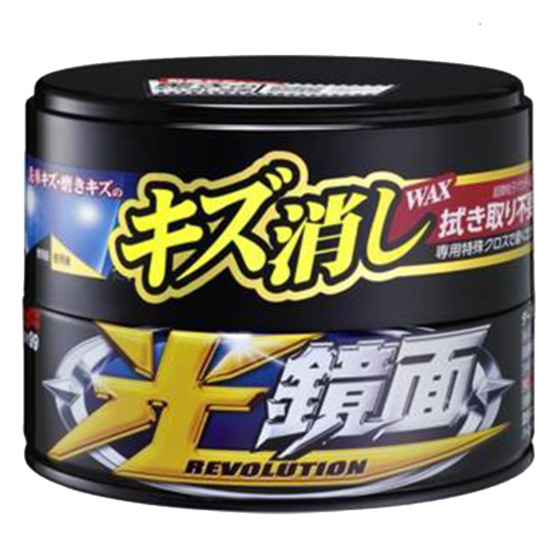 Soft99 Scratch Clear Evolution Dark paste wax (200g)