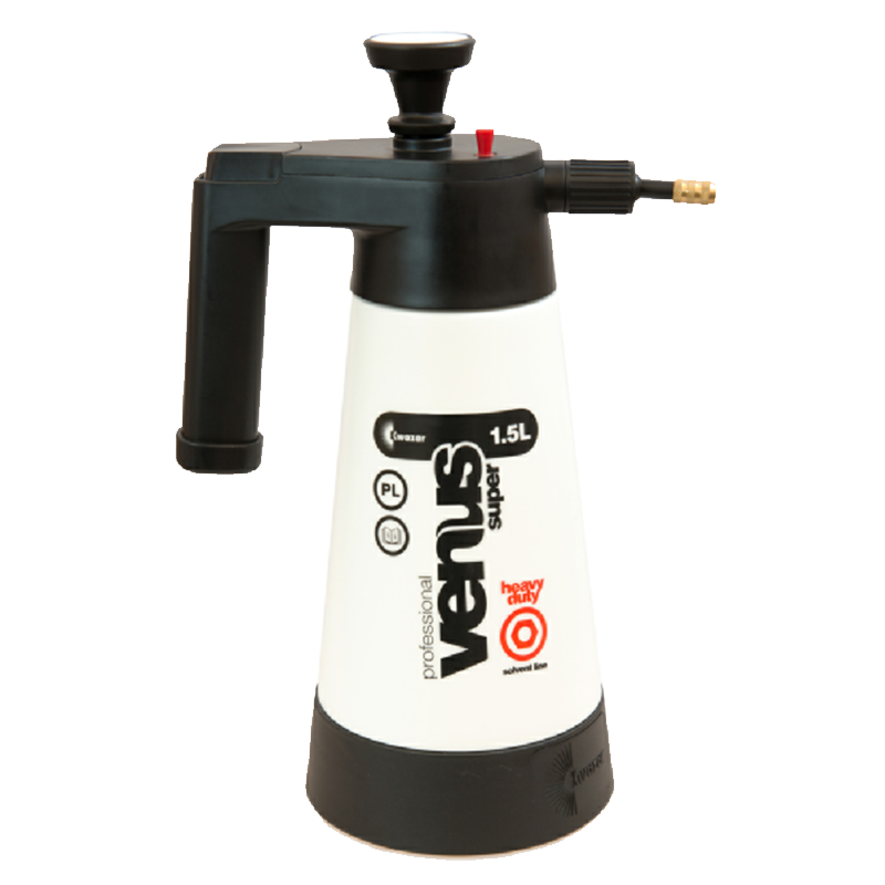 Kwazar Black And White Venus PRO 1.5 Litre Solvent Sprayer