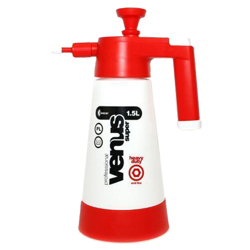 Kwazar Red And White Venus PRO 1.5 Litre Compression Sprayer