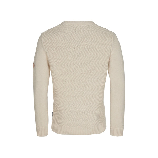 Brendan Crew neck Cable knit - Ecru