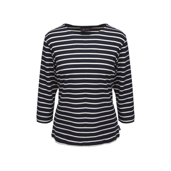 Sea Ranch Aps - Key West Grenaa Long Sleeve Tee 4017 KW Navy/Ecru