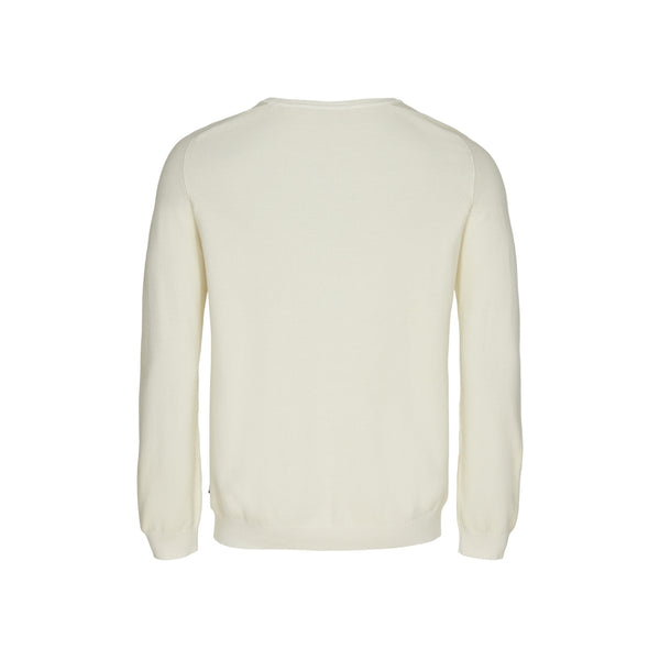 Howard crew neck pearl knit - Ecru
