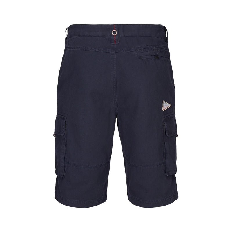 Jeffery Knælange Shorts - Mørk Navy