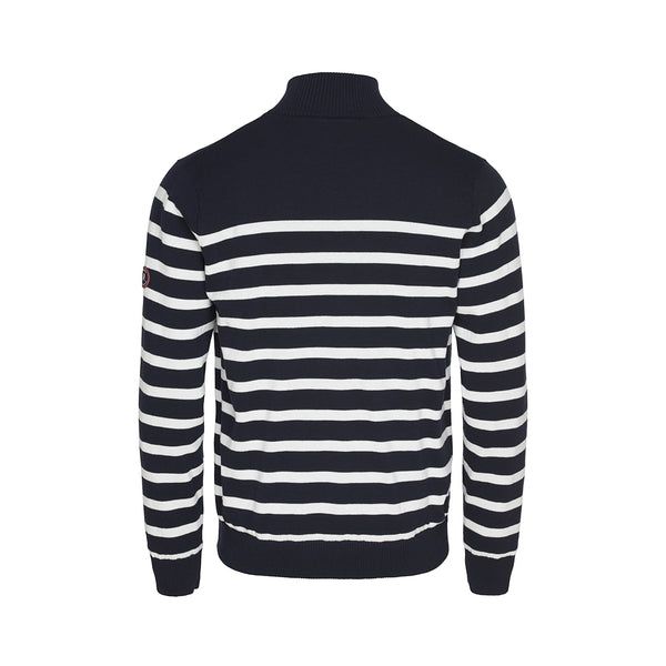 Haakon Stribet Strik Cardigan - Windbreaker - Dark Navy/Pearl
