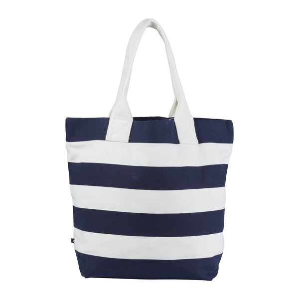Beach Bag - Ecru/SR Navy