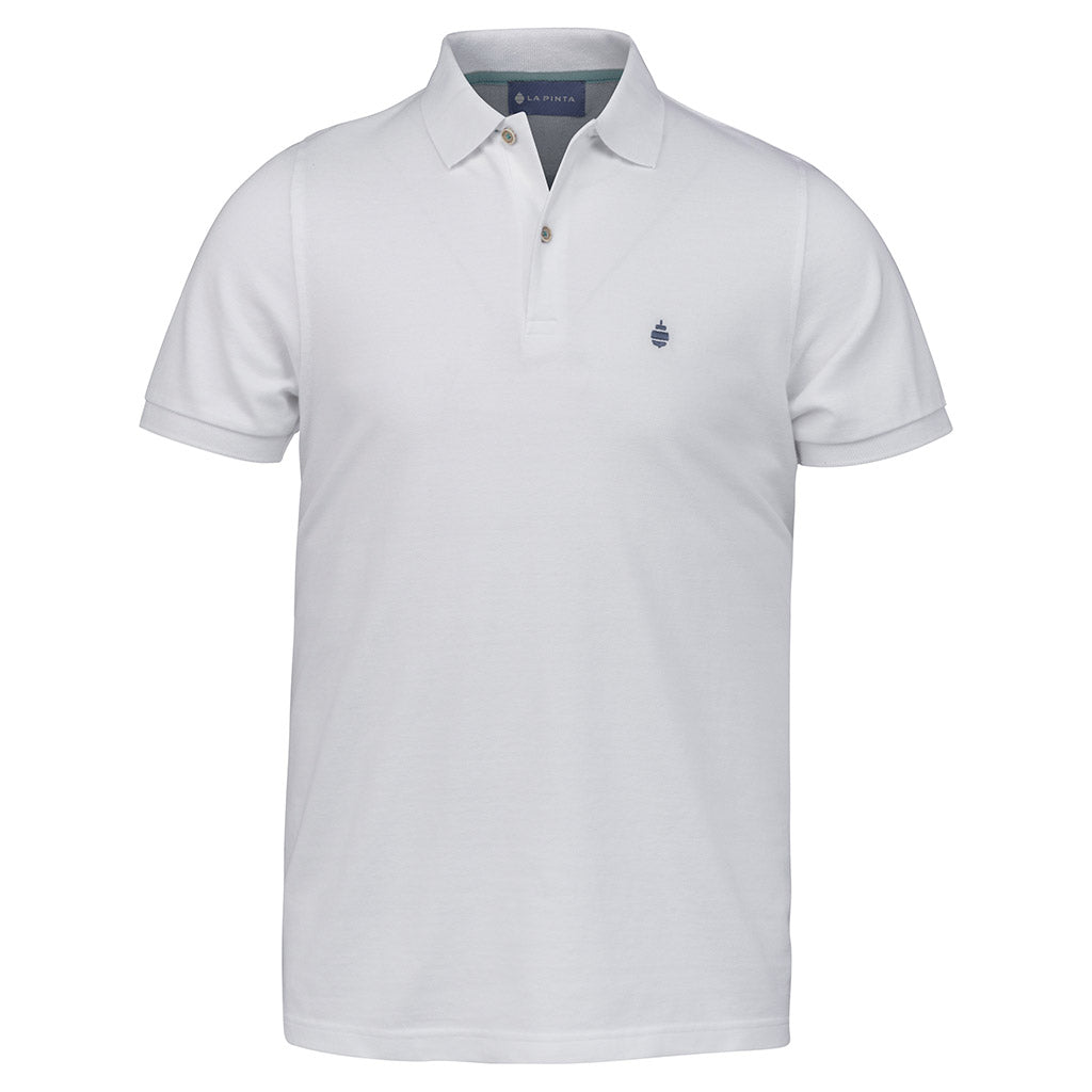 Polo Liso (Blanco)
