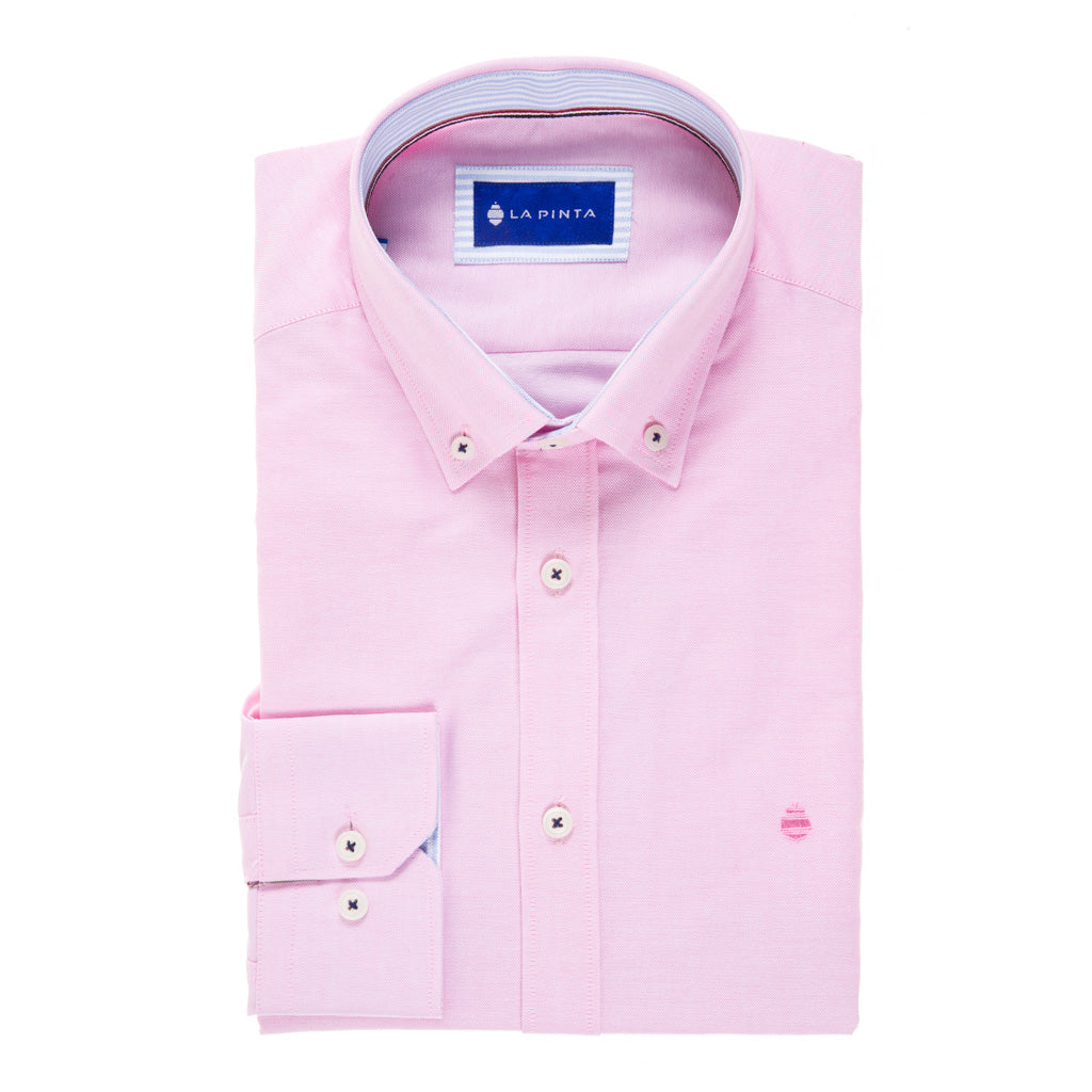 Camisa Sport Lisa Oxford (Rosa)
