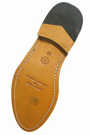 Zapato Doble Hebilla (Marrón)