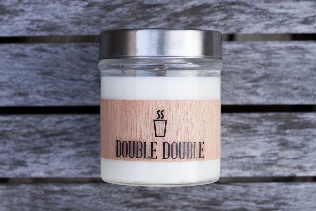 Double Double Scented Soy Candle