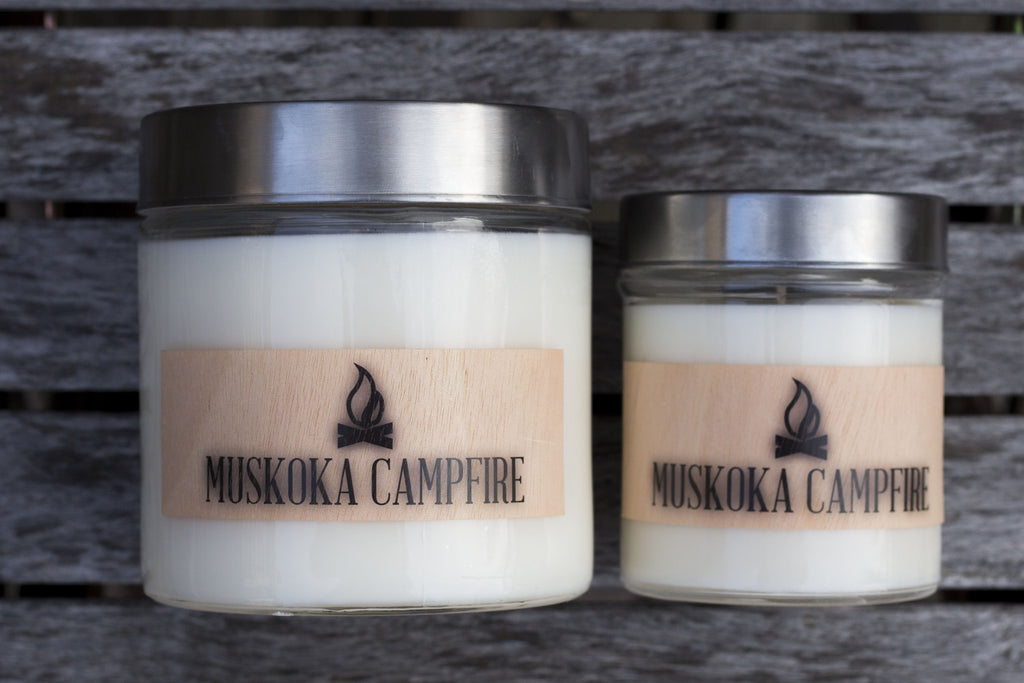 The Big Bear - Muskoka Campfire Scented Soy Candle