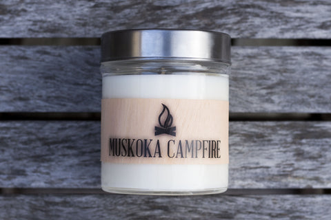 Muskoka Campfire Scented Soy Candle