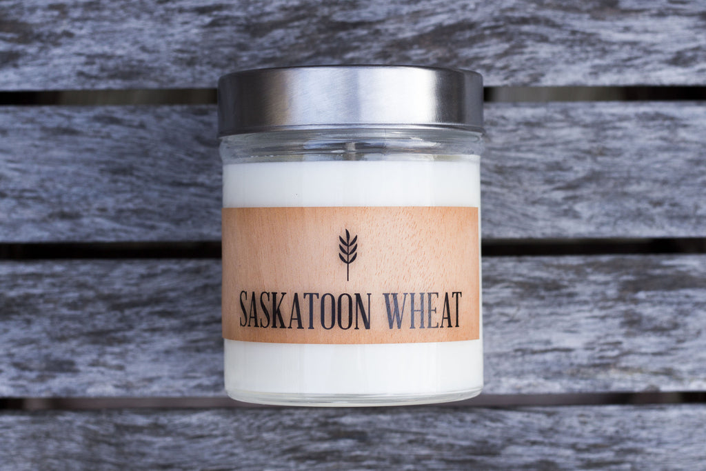 Saskatoon Wheat Scented Soy Candle