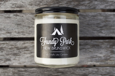 Fundy Park - Parks of Canada Scented Soy Candle