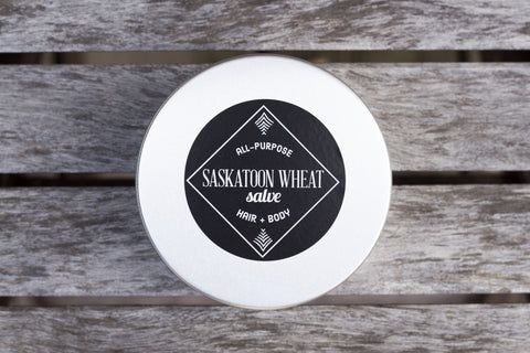 Saskatoon Wheat Shea Butter Salve