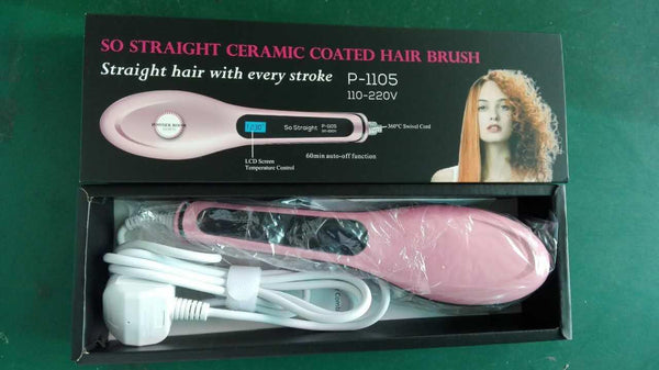 So Straight Ceramic Coated Hair Brush