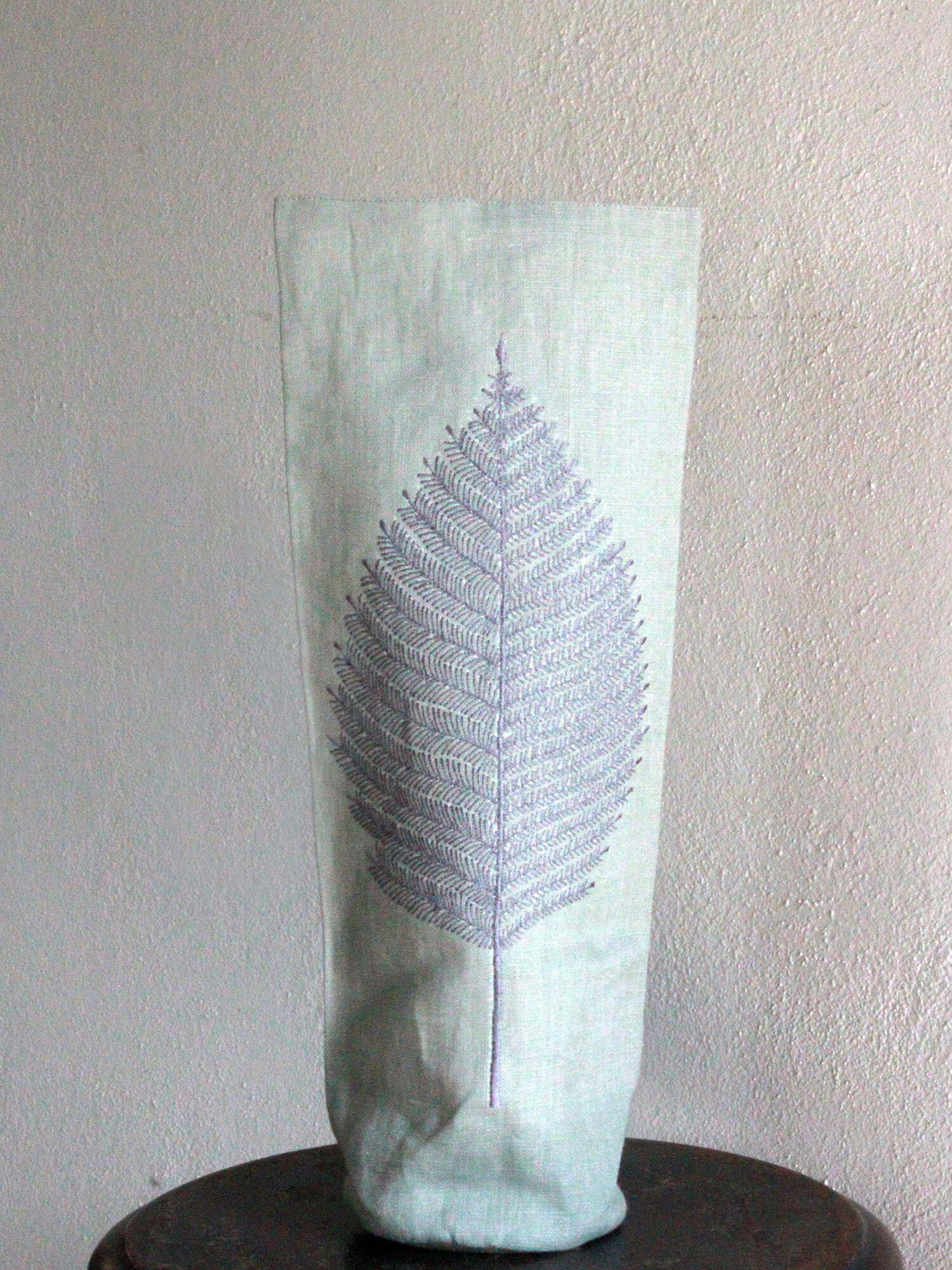 BOOZY BAG | COOL GRAY FERN LEAF