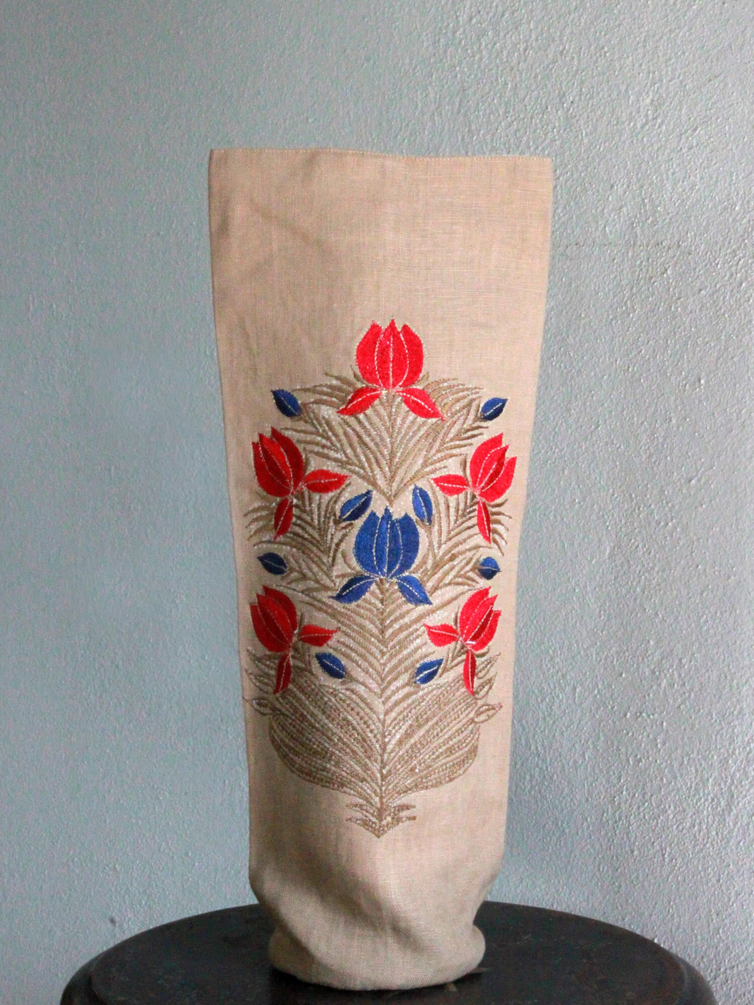 BOOZY BAG | TORTILLA FLORAL BLOCK