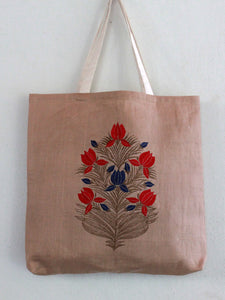GIFT TOTE | TORTILLA FLORAL BLOCK