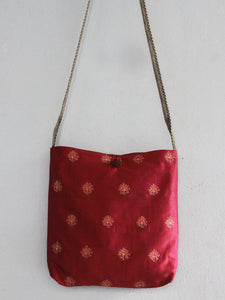 SLING TOTE BAG | RUBY | FLORAL BUTTIS