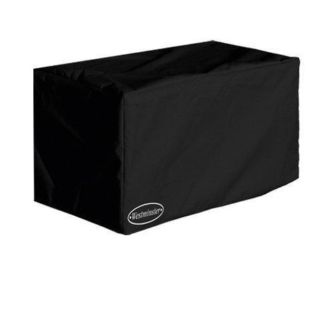 Garden Furniture Accessories - Garden Furniture Cover For Large Cushion Box In Black