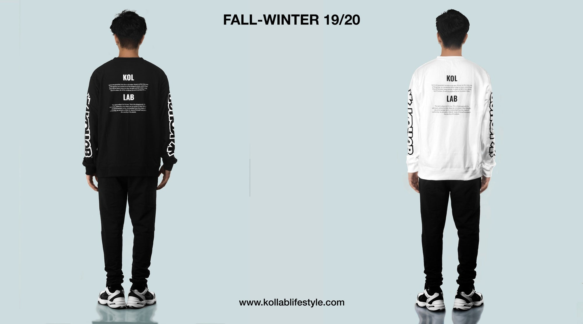 Kollab® Fall-Winter 19/20 Collection | Protagonist L/S Sweatshirts - Slideshow | www.kollablifestyle.com