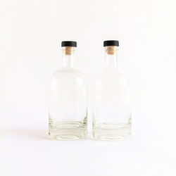 Spirits Bottles - 750ml (2-Pack)