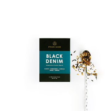 black denim infusion blend