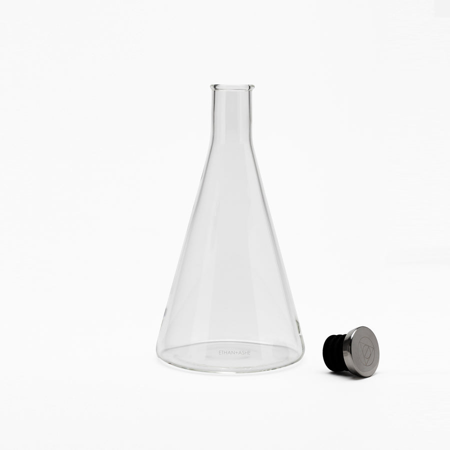 lab decanter open