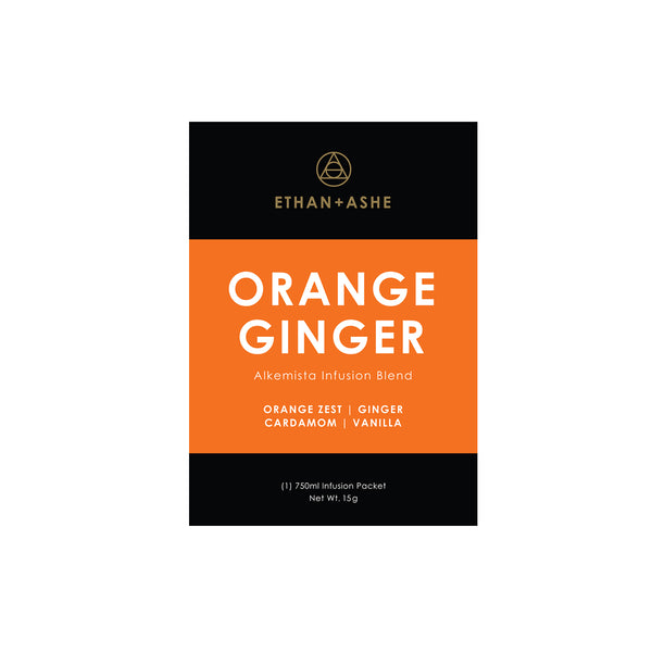 alkemista orange ginger infusion blend