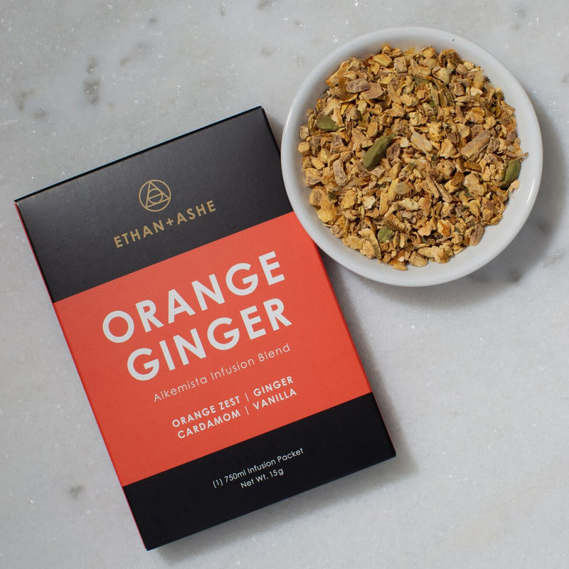 alkemista orange ginger infusion blend - ethan ashe