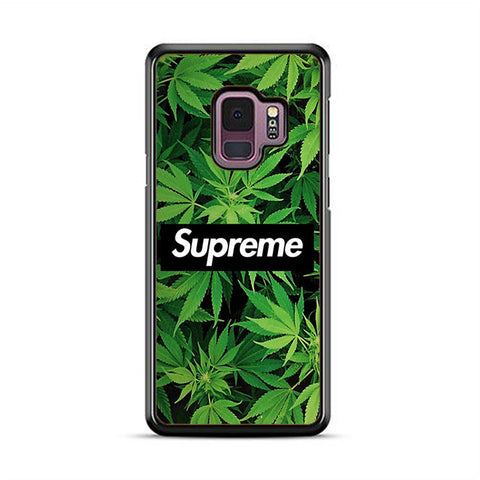 brand new 2cab3 ce91b Supreme Weed Samsung Galaxy S9 | S9 Plus Case