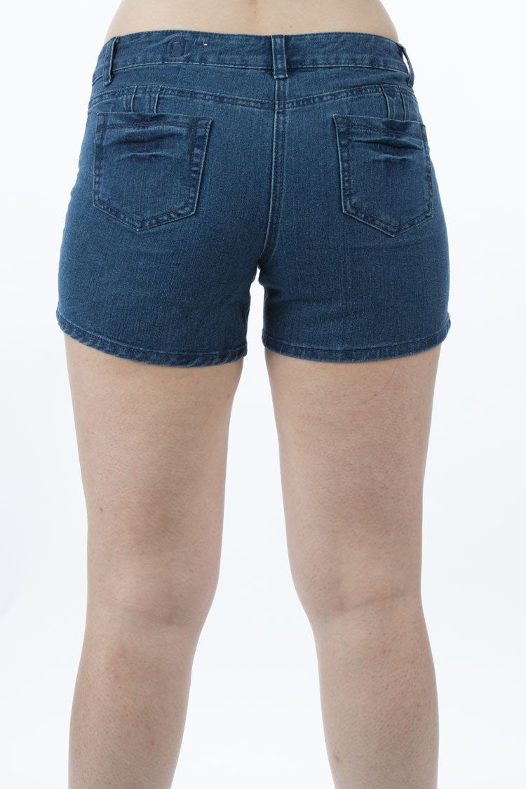 Mid Rise Denim Shorts | 2614 s