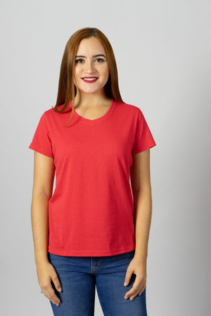 Solid Tees Vneck | 902SS