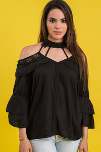 Choke & Cut Top | 648
