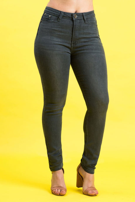 High Rise Butt Lift Jeans| 2637