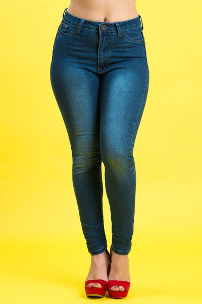 High Rise Butt Lift Jeans| 2638