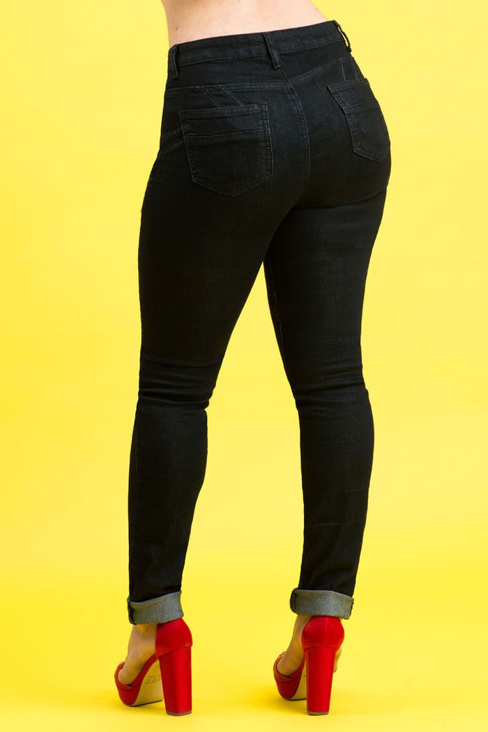 High Rise Butt Lift Jeans| 2639 (VER-Z)