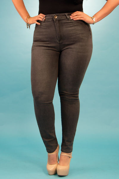High Rise Butt Lift Jeans| 2637 X