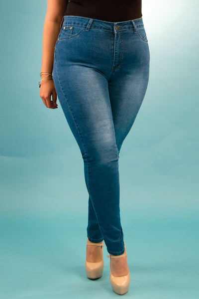 High Rise Butt Lift Jeans| 2638 X