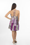 Beach Short Dress | 330 (Purple-Print2387)