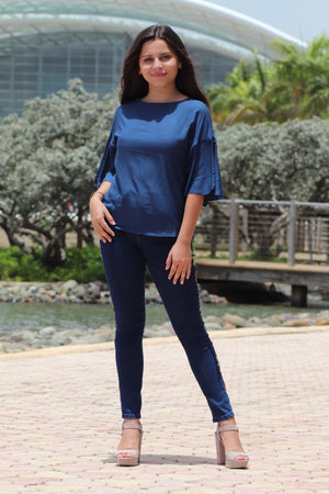 Blue Bell Sleeve Top | 458