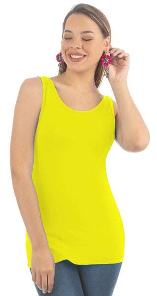 Empire Yellow Basic Top | NR-313