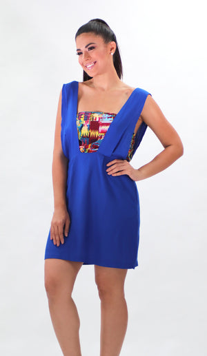 Royal Blue Dress | H-471